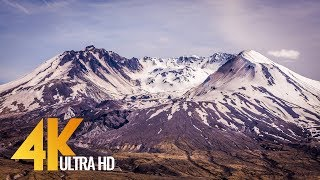 Mt. St. Helens - 4K Nature Documentary Film - 1.5 HRS