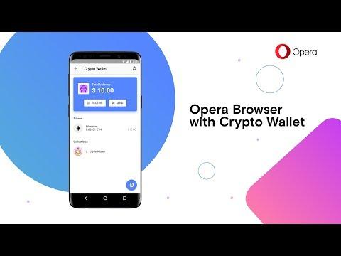 Operaモバイルブラウザに仮想通貨ウォレット機能を追加予定!Androidベータ版申請ページ登場!仮想通貨/ブロックチェーン最新情報