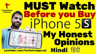 [Hindi] Before you BUY iPhone 5S | Must Watch | My Honest Advice(Namaskaar Dosto, is video mein maine aapko bataya hai ki aapko iPhone 5s kyu nahi lena chahiye, agar aap abhi iPhone lene ka soch rahe hai toh aapko yeh ..., 2016-02-21T06:25:14.000Z)
