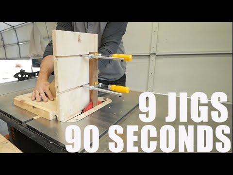9 Must have Woodworking Jigs