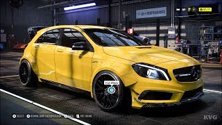 Need for Speed Heat - Mercedes-AMG A45 2016 - Customize | Tuning Car (PC HD) [1080p60FPS]