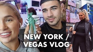 NEW YORK / VEGAS VLOG