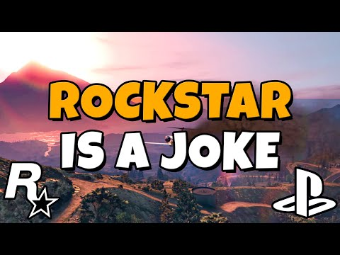 Rockstar is a Joke - I am Angry, Disappointed, and Embarrassed (PlayStation Showcase)