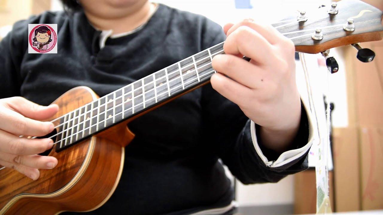 [阿fa ukulele solo ] 陳奕迅: 明年今日/十年 (附譜) - YouTube