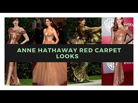 Anne Hathaway Red Carpet Looks💖 | Style & Fashion | Street Style | Fashion| Red Carpet