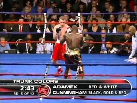 Steve Cunningham vs Tomasz Adamek 2008 12 11 full fight