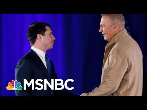 Kevin Costner On Why He's Backing Buttigieg | Velshi & Ruhle | MSNBC