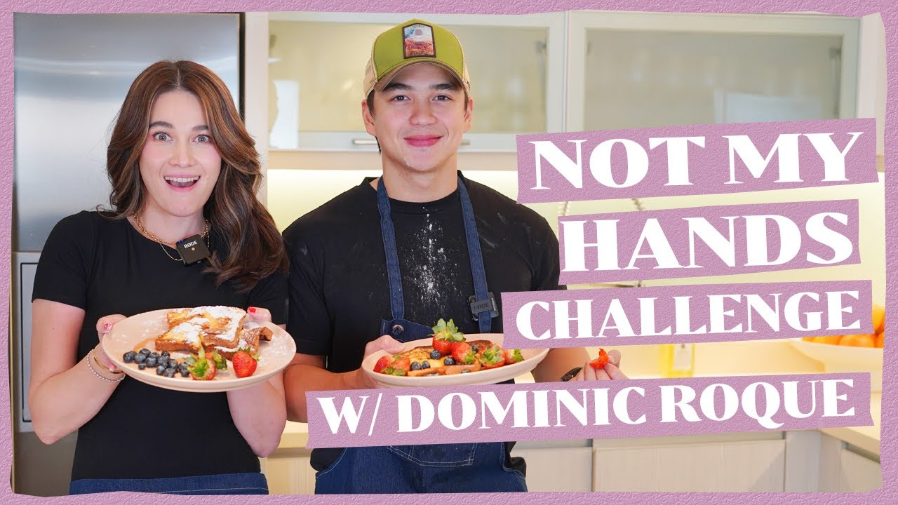 Download NOT MY HANDS CHALLENGE WITH @Dominic Roque   Bea Alonzo