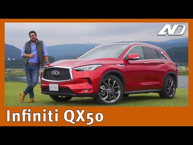 Infiniti QX50 - Bonita, pero ¿A la altura de sus rivales?