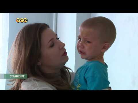 Мать избила сыновей....