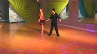 Brenda Kapros & Edwin Roa (Salsa)
