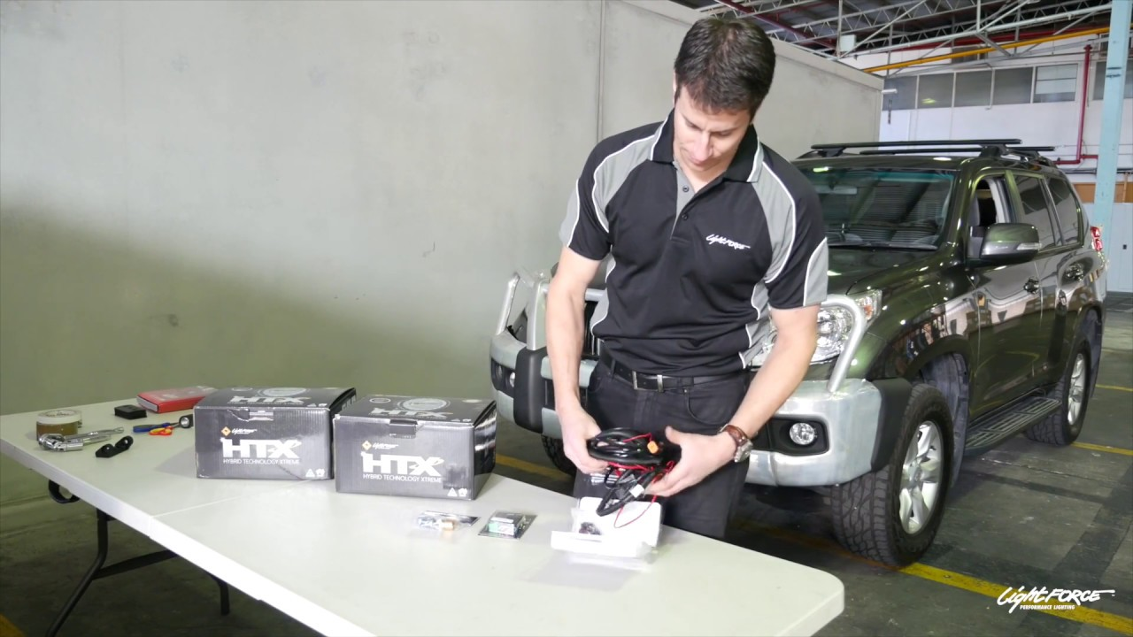 maxresdefault lightforce installation diy video toyota prado 150 series with illuminator wiring harness instructions at highcare.asia