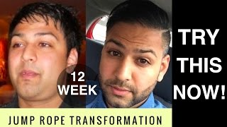 EPIC JUMP ROPE TRANSFORMATION: WEIGHT LOSS WORKOUT