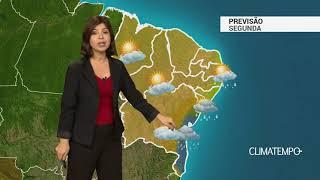 Previsão Nordeste – Chuva frequente no litoral baiano