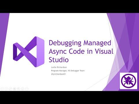Debugging Managed Async Code In Visual Studio 2019