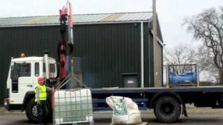 Lorry Loader Hiab Training Session