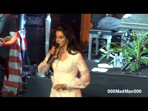Lana Del Rey - Burning Desire - HD Live at Olympia, Paris (27 April 2013)