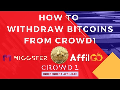 How To Withdraw Bitcoins From Crowd1