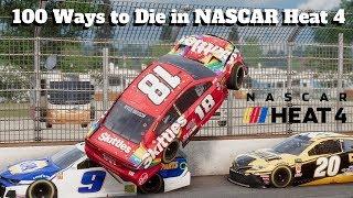 100 Ways To Die In NASCAR Heat 4