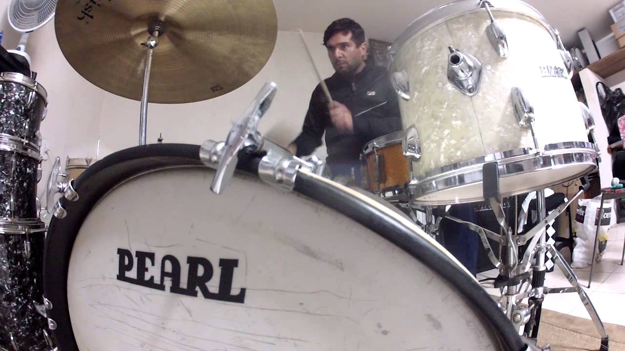 Pearl Drums Wmp 1968 Bateria Vintage 1960