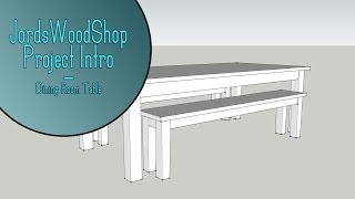 Build A Dining Room Table Set - Project Intro