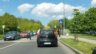 Ispitna trasa - Auto škola Signal Buda
