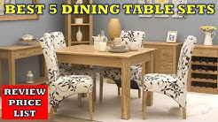 Top 5 Best Dining Table Chair Set - Review with Price List 2019