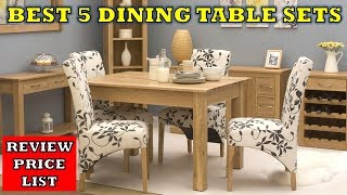 Top 5 Best Dining Table Chair Set - Review with Price List