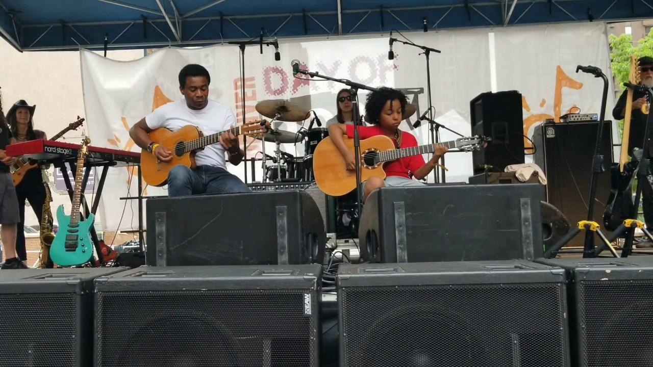 Mediterranean Sundance - Rio Ancho live cover by Marel Hidalgo and Jerry Franklin