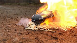 Сожгли Porsche Panamera turbo машинку