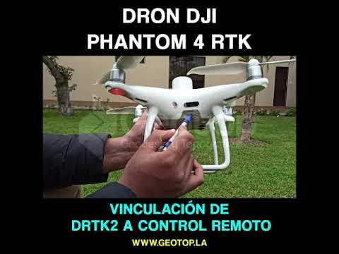 10 Vinculacion DRTK2 A Control Remoto
