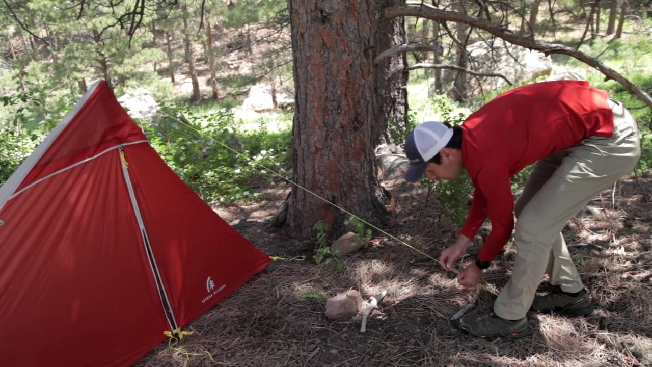 Sierra Designs High Route Tent 1fl Pitching Instructions Youtube