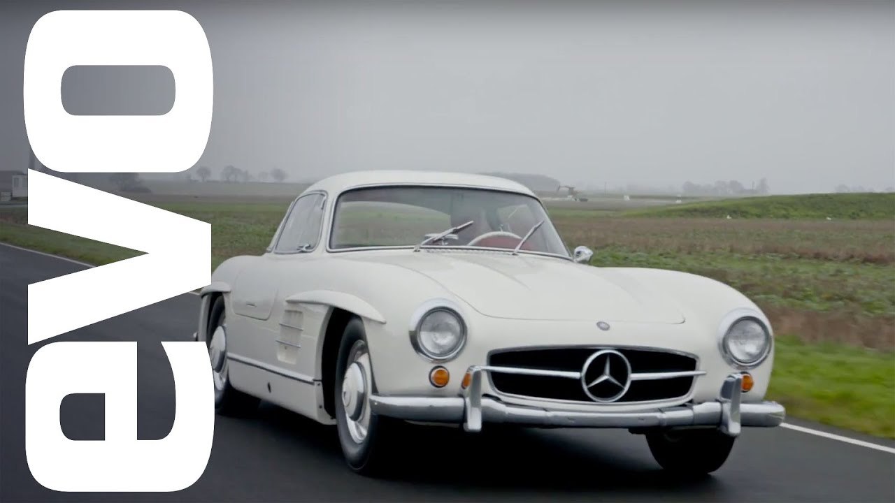 mercedes 300 sl gullwing driven the first ever supercar evo
