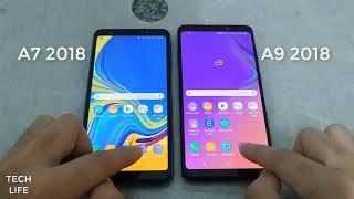 Samsung Galaxy A9 (2018) vs Galaxy A7 (2018) Speed Test