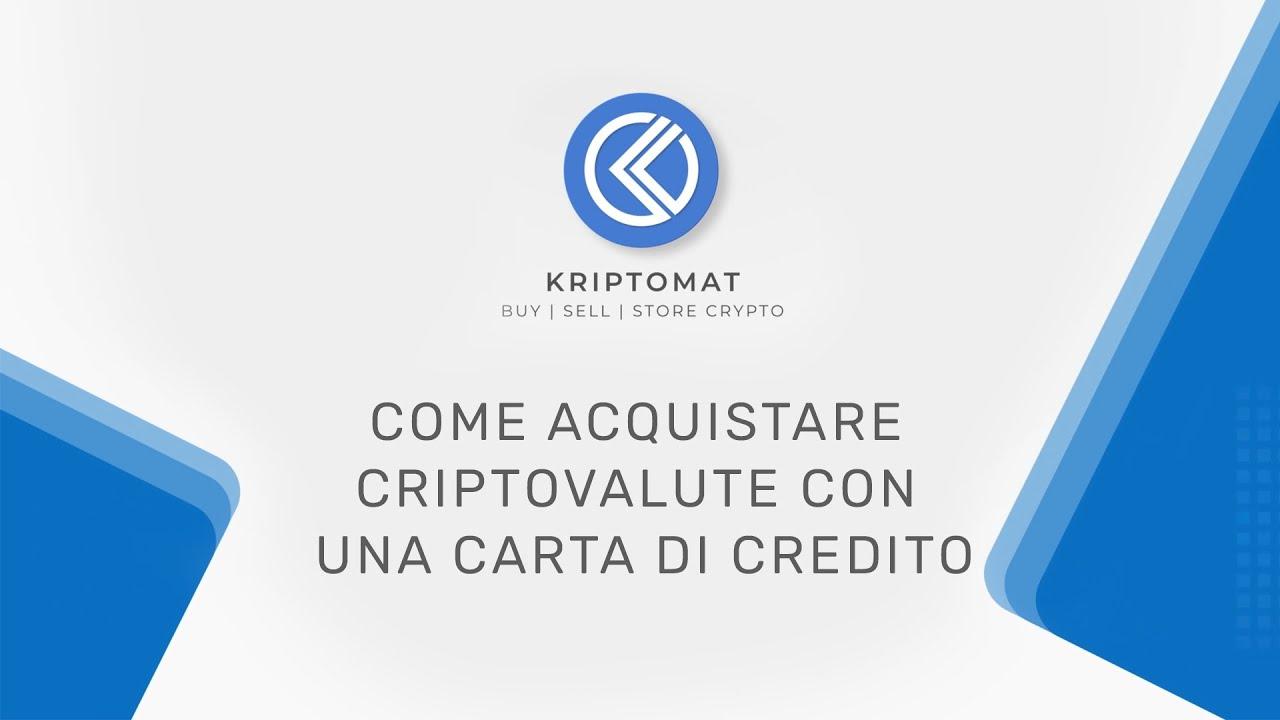 acquistare criptovalute con carta di credito futures cassa bitcoin