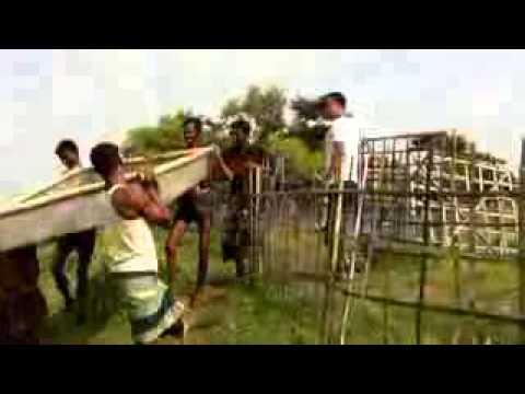Bangladesh Fishery   Video Walkthrough of Fish Harvesting