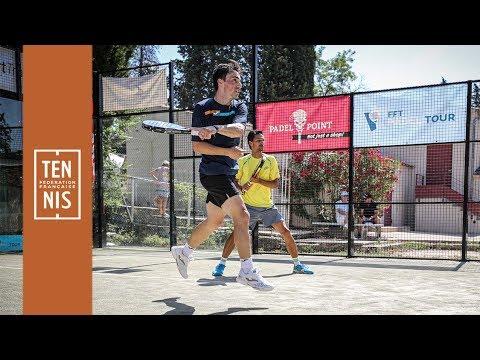 FFT Padel Tour - Aix-en-Provence : Perino a fait le show !