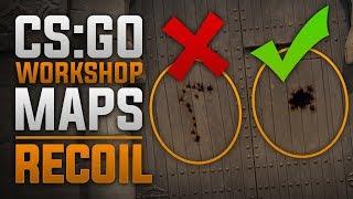Como controlar el recoil | Mapas de CSGO