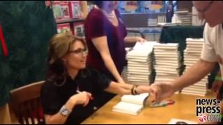 • Sarah Palin In Naples, Florida For Book Signing • 11/16/13 •