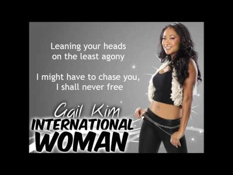 Gail Kim WWE Theme - International Woman (lyrics)