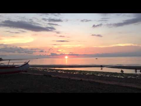 sunset at my hometown Balusbos Malay Aklan