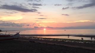 sunset at my hometown Balusbos Malay Aklan