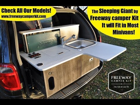 Turn key Camper van conversion kit, Freeway Camper Kit, van life, van  dwelling, cheap RV