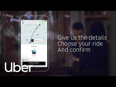 How to Schedule a Ride I Uber