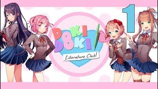 Play Doki Doki Literature Club! - Stream Series Part 1: Supposedly This Gets Scary