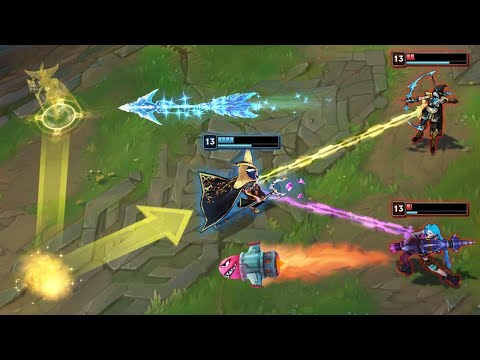 Calculating MULTIPLE Steps Ahead - 200IQ CLEAN OUTPLAYS - League of Legends thumbnail