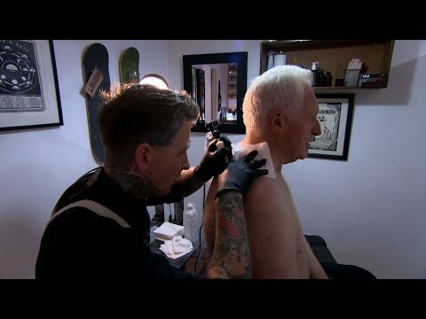 David Dimbleby gets a tattoo - Britain and the Sea: Episode 1 - BBC One