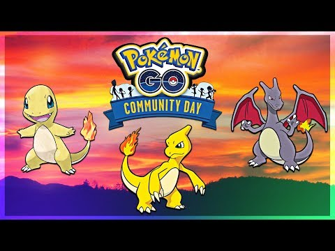 SHINY CHARIZARD!!! Pokemon GO Community Day | May 2018 thumbnail