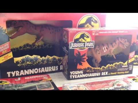 Jurassic Park Toy Collection! 1993, Kenner®