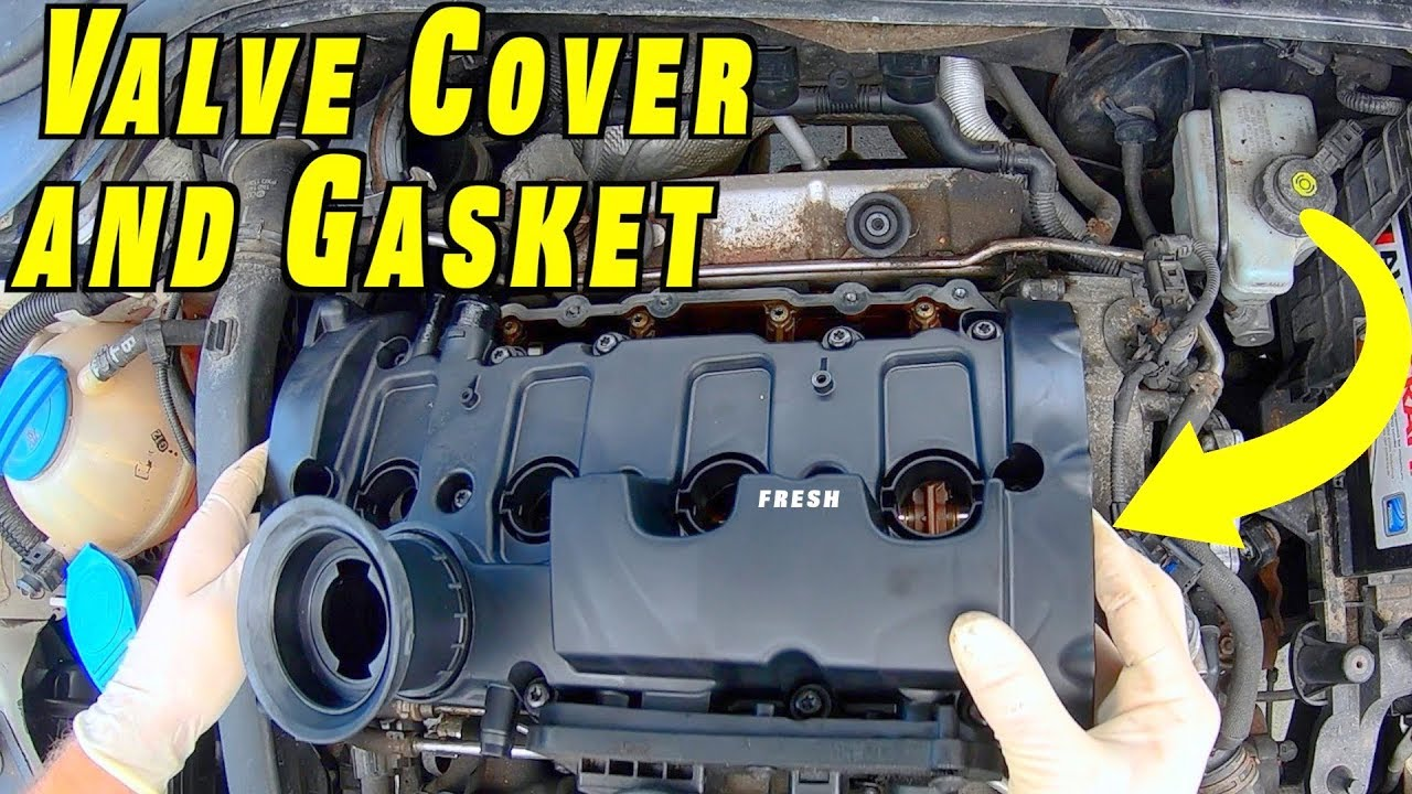 2010 Vw Gti Engine Diagram Valve Cover And Valve Cover Gasket Replacement Mk5 Gti